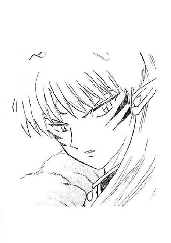 Manga image Sesshomaru
