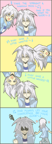 Bakura and Marik images Marik and Bakura wallpaper and background photos
