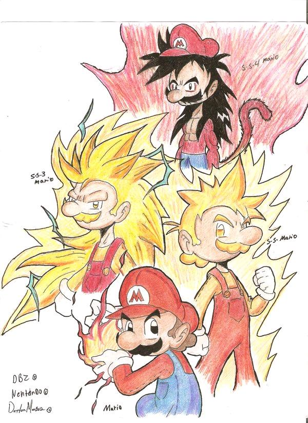 mario and goku images mario ssj forms hd wallpaper and