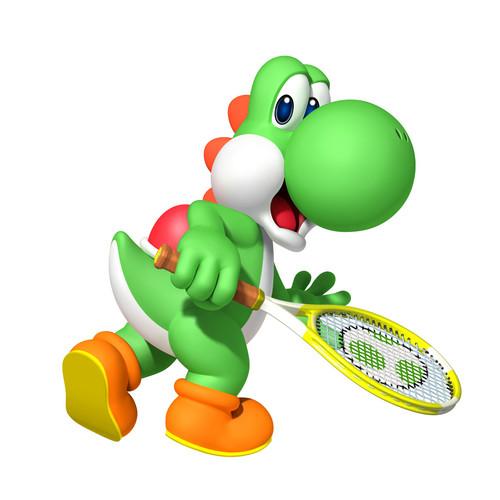 Mario Tenis Yoshi