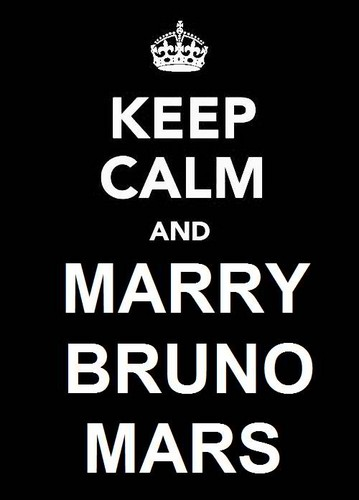 Marry Bruno Mars