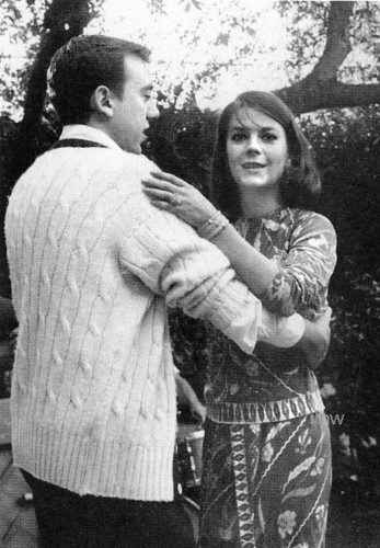 Mart Crowley and Natalie Wood dances