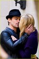 Matt Bomer & Laura Vandervoort Kiss for 'White Collar'! - matt-bomer photo