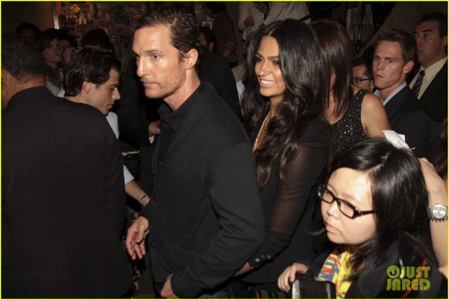 Matthew McConaughey images Matthew McConaughey & Camila Alves: Noir, Le Lis Opening! HD wallpaper and background photos