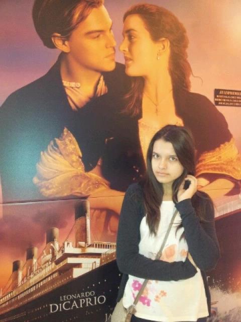 Me at Titanic 3D