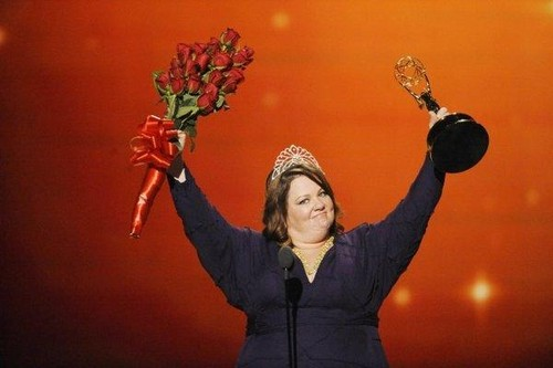 """Melissa McCarthy wins Best Actress in a Comedy Series at """"Emmy Awards 2011"""" <3"""