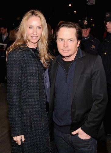 Michael J Fox,Tracy Pollen - michael-j-fox Photo