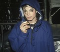 Michael Jackson SMOKING?