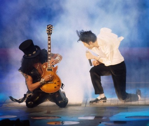 Michael & Slash