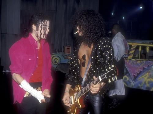 Michael & スラッシュ