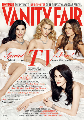 Michelle on Vanity Fair cover - downton-abbey Photo