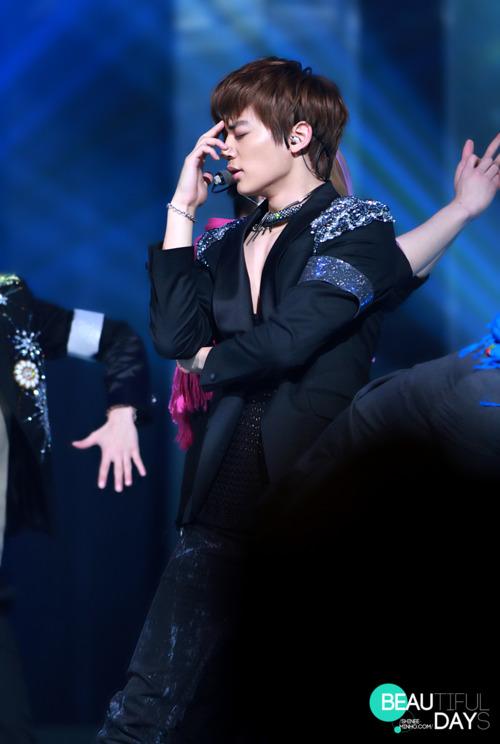 MinHo at KBS show, concerto (: