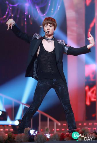 MinHo at KBS concerto (: