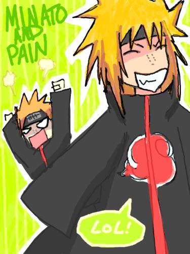 Minato vs Pain xD