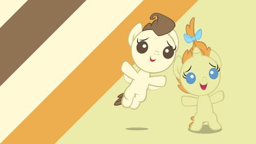 Minor poni, pony fondo de pantalla