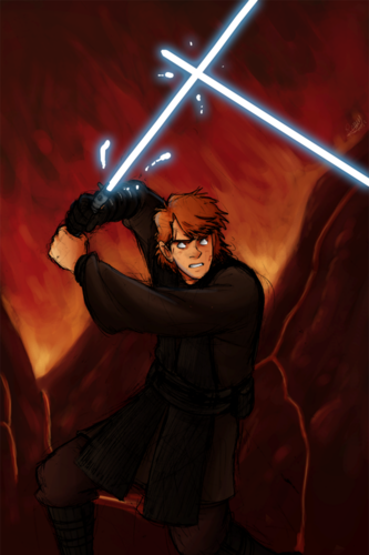 anakin skywalker wallpaper probably containing a fire, a concert, and a chainlink fence entitled mais Fanart