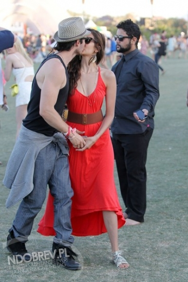 More Nian at Coachella! - ian-somerhalder-and-nina-dobrev photo