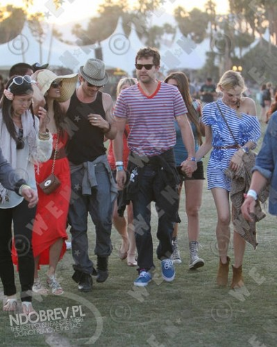 meer Nina and Ian at Coachella!