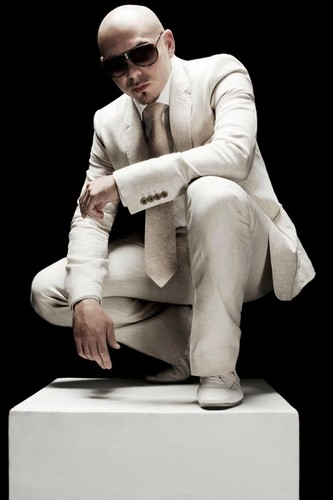 Pitbull (rapper) wallpaper with a well dressed person and a business suit titled Mr.Worldwide <3