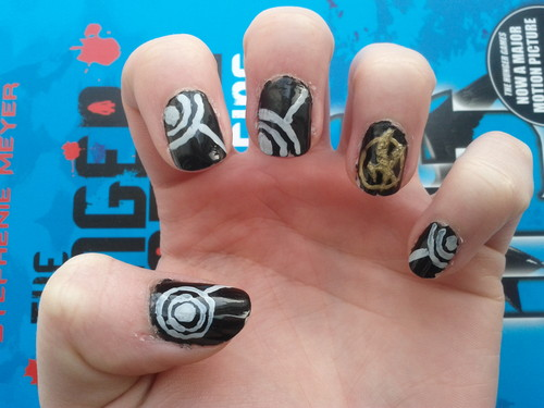 My Hunger Games Nails