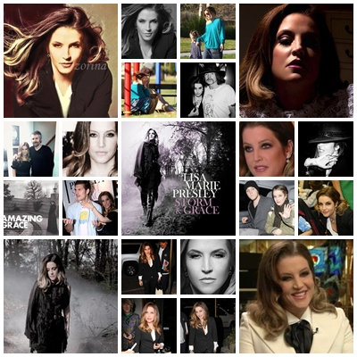 My LMP collages - lisa-marie-presley Fan Art