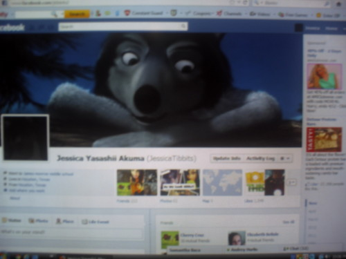 My Facebook Profile! xD I'm a Huge Фан of Humphrey xD