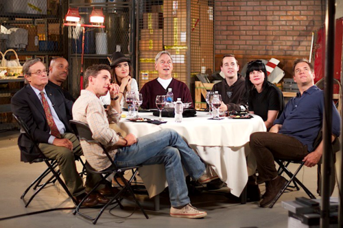 NCIS wallpaper with a brasserie, a restaurant, and a dinner table entitled NCIS Cast