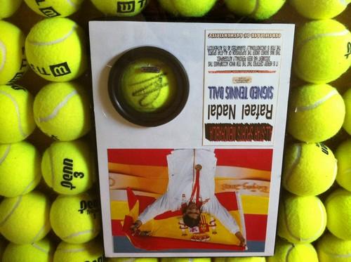 Nadal tênis Ball Flag