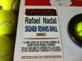 Nadal Tennis Ball Flag - rafael-nadal fan art