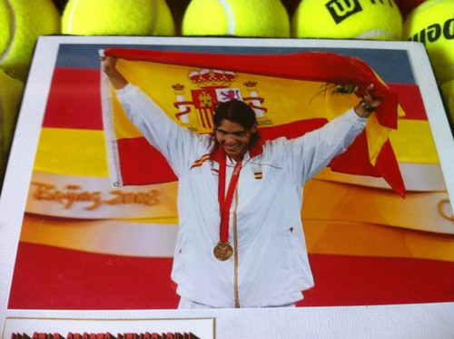 Nadal टेनिस Ball Flag