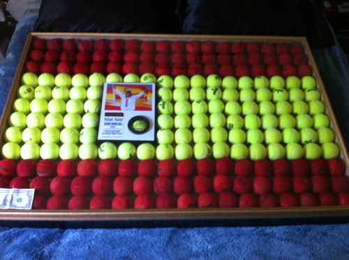 Nadal Tennis Ball Flag