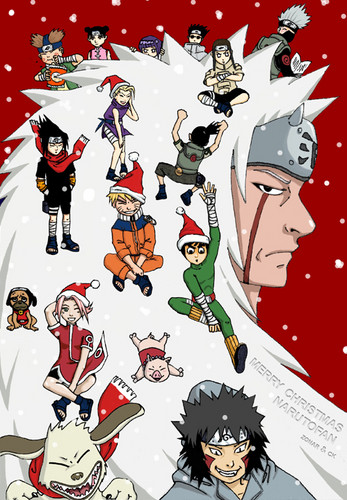 Naruto achtergrond possibly with anime entitled Naruto Christmas