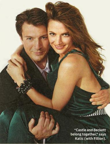 Nathan and Stana ♥
