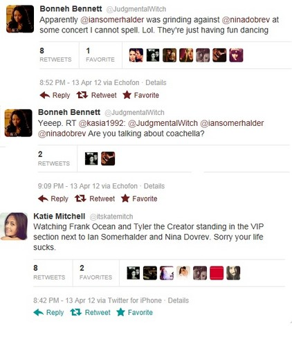 Nian coachella twitter sightings