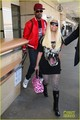 Nicki Minaj &amp; Boyfriend Safaree Samuels: LAX Arrival - nicki-minaj photo