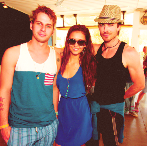Nina + Ian at Coachella - ian-somerhalder-and-nina-dobrev photo