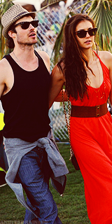Ian Somerhalder and Nina Dobrev images Nina and Ian wallpaper and background photos