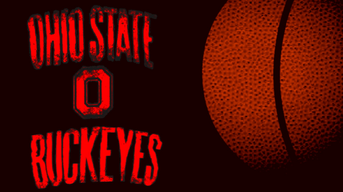 Ohio State universidad baloncesto fondo de pantalla called OSU baloncesto fondo de pantalla LARGE BALL