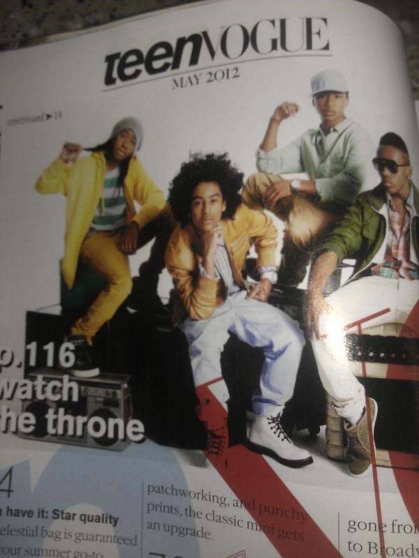 Omg Princeton on Teen Vogue