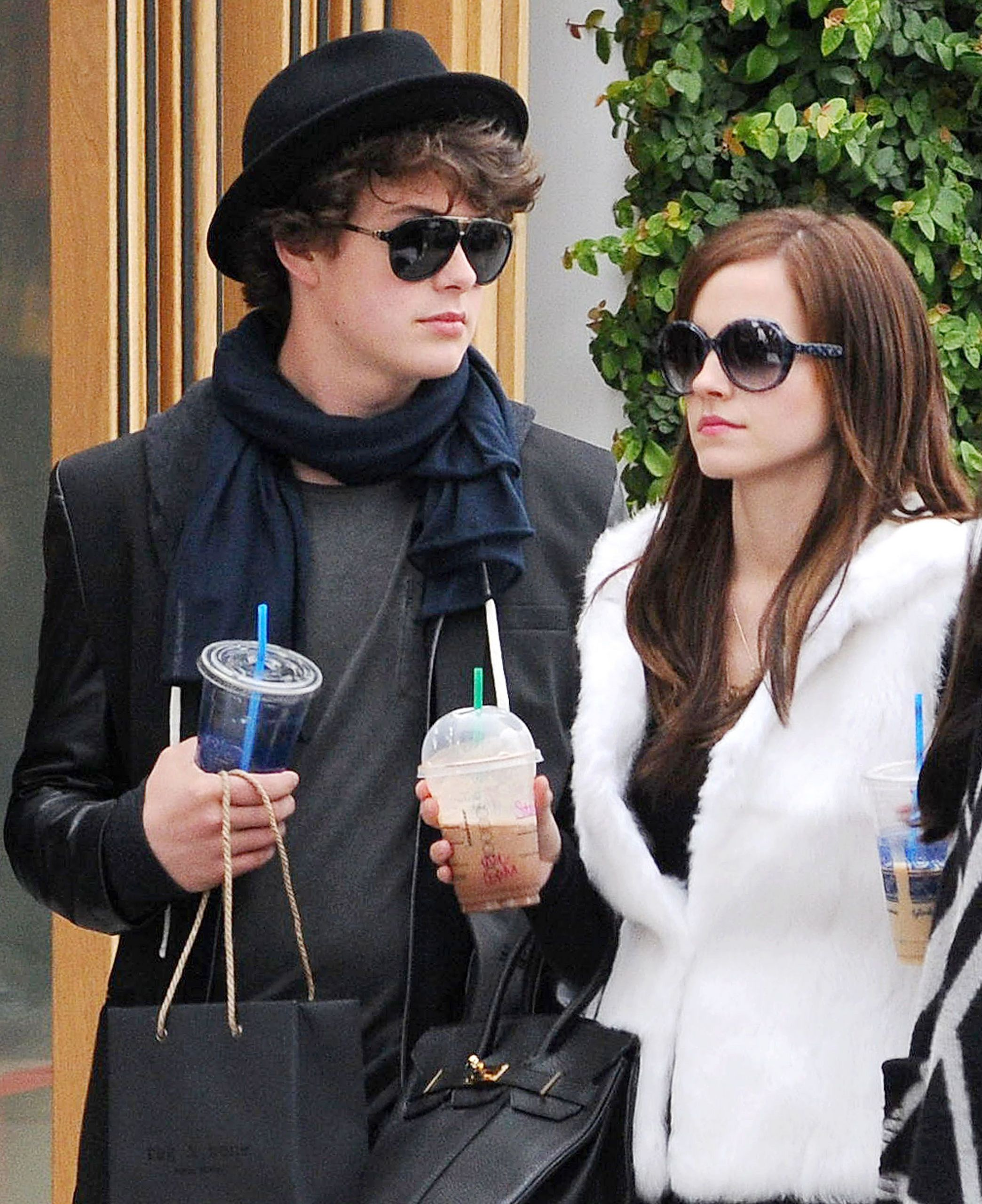 On the Set of The Bling Ring - April 11, 2012