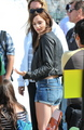 On the Set of The Bling Ring - April 12, 2012 - emma-watson photo