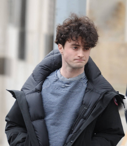 On the set of «Kill Your Darlings» - April 11, 2012