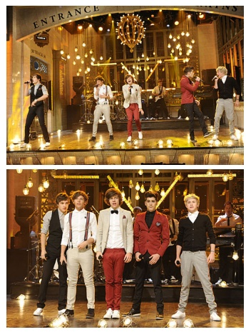 One Direction on SNL <3