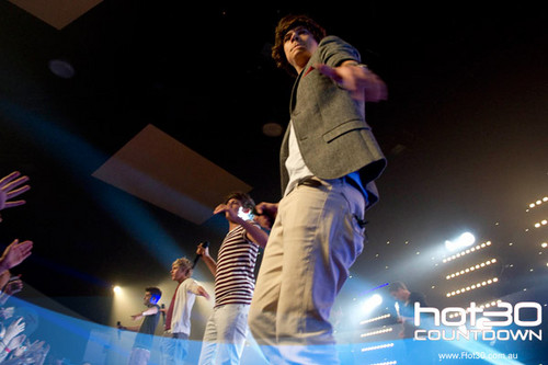 One Direction's 'Rooftop Performance' in Sydney, Australia