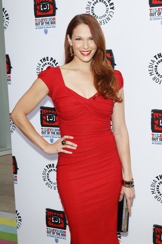 Paley Center's Opening Of 'Television Out Of The Box' In Beverly Hills 12.04.12 - amanda-righetti Photo