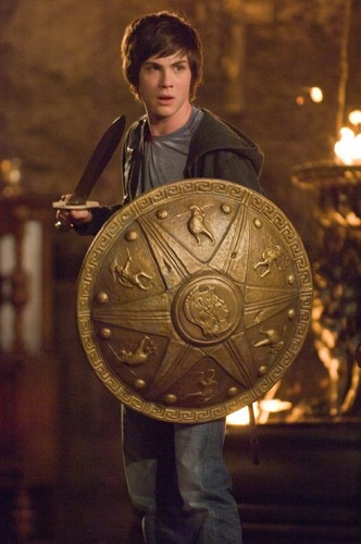 Percy Jackson wallpaper possibly with a shield entitled Percy Jackson