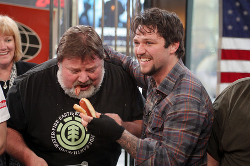 Phil Margera and Bam Margera♥