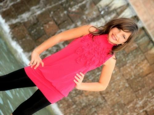 Photoshoot: Think rosado, rosa