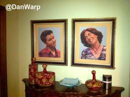 Pictures of Freddie and His Mom in their House
