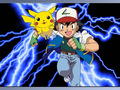 Pikachu and Ash - pokemon wallpaper